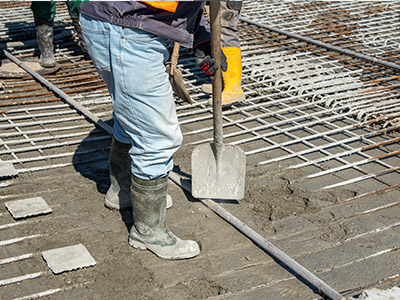 Commercial Construction-Shoveling