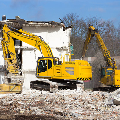 Commercial Construction-Excavator