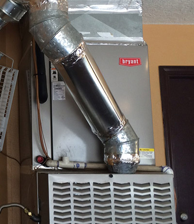 Residential Heating Installation-Heater in Garage