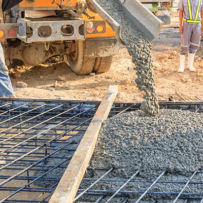 Commercial-Pouring Concrete