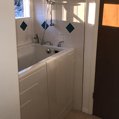 Residential Plumbing-Bathroom Walk-In Tub